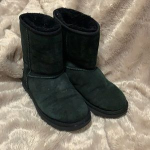 Black Ugg's with wear